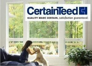 certainteed window with logo