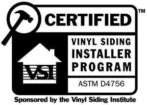 vinyl siding institute certified