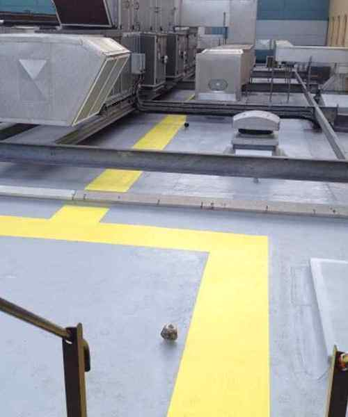 industrial roof coating system