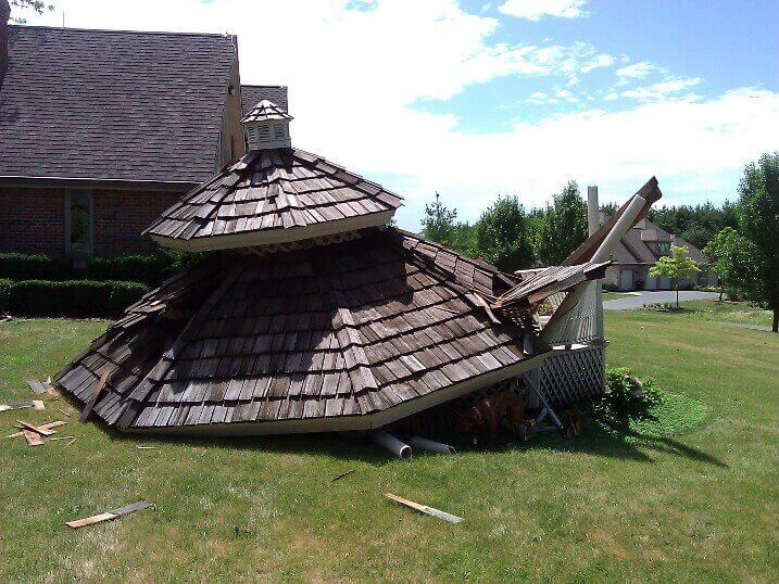 Gazebo And Deck Installation In Crystal Lake Gutters