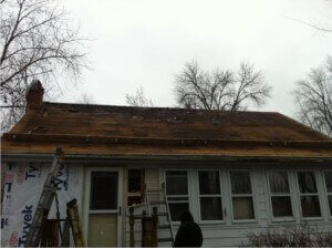 Bad roof deck