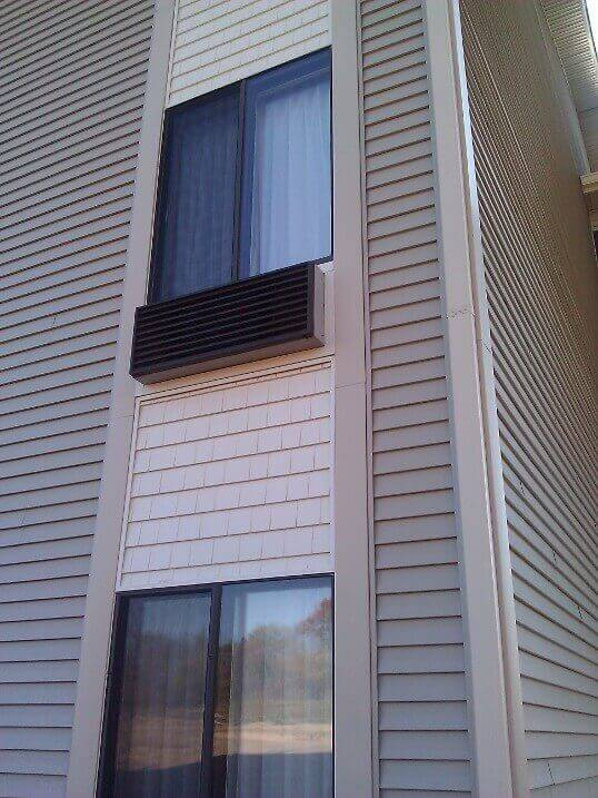 Commercial Siding Installation Hotel In Antioch Illinois