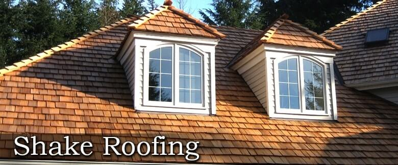title slide for cedar shake roofing page
