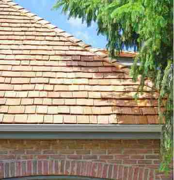 New Cedar Shake Shingle Roof