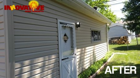 Siding And Roof Replacement From Hail Damage In Round Lake