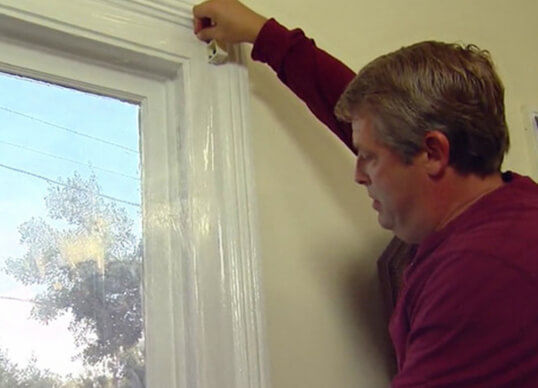 winter time replacement window installation