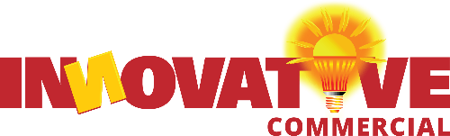 innovative commercial roofing logo